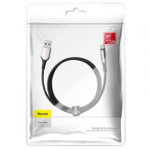Kabel magnetyczny USB-C Baseus Zinc 2A 1m CZARNY