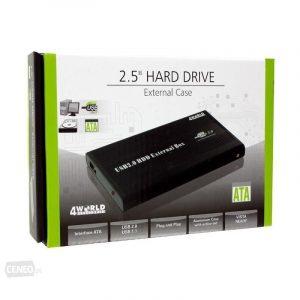 """Zewnętrzna obudowa na dysk twardy 4WORLD 05287, 2.5"""", IDE - USB"""