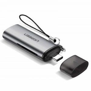 Czytnik kart 2w1 UGREEN USB-C 3.1 do microSD + SD