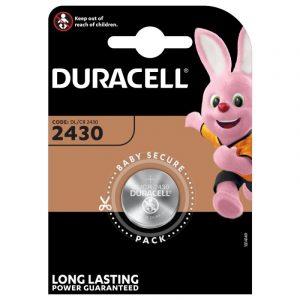 Bateria litowa Duracell 2430