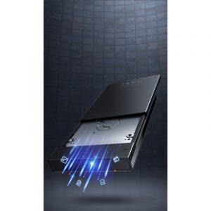 """Obudowa dysku HDD/SSD Baseus Full Speed Series, 2,5"""", Micro USB (czarna)"""